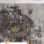 世界地图背景墙