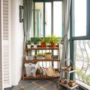 清新透明式阳台装修
