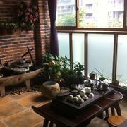 中式涵韵入户花园
