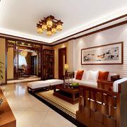 中式客厅桌椅摆件