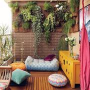 东南亚式小户型阳台