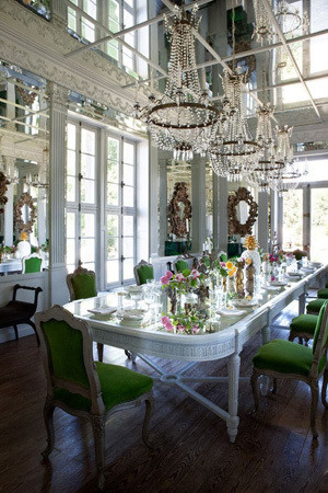 经典法式风格浪漫餐厅装修效果图