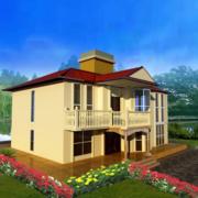 欧式小别墅房屋设计