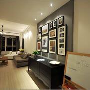 客厅照片墙设计
