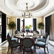 现代简约型餐厅设计