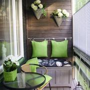 自然气息的阳台设计