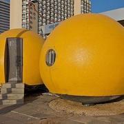 橙色系列个性卫生间