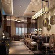 中式简约型客厅