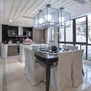 中式客厅白色家装