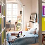 卧室拱形门窗设计