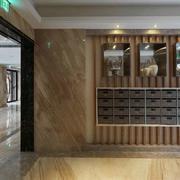 别墅木质酒柜