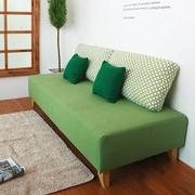 绿色文艺沙发