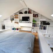 跃层卧室效果图