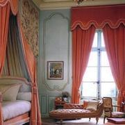 粉色系卧室窗帘