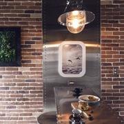 公寓餐厅柔和系灯光设计
