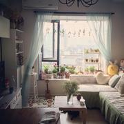 日式唯美卧室飘窗