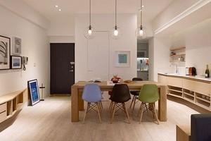 100平米三室两厅两卫装修效果图