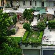 小区房花园设计效果图