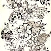 花朵图案室内装饰