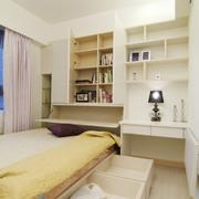 小户型欧式卧室窗帘设计