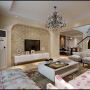 美式小清新沙发