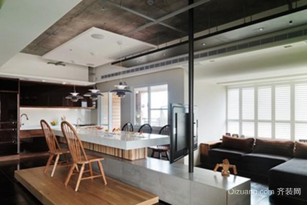 2015新型采光设计客厅吊顶装修效果图