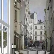抽象式建筑图背景墙
