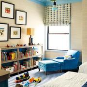 蓝色清新沙发