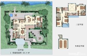 别墅图纸参照图
