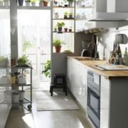 现代欧式简约型厨房样板间设计