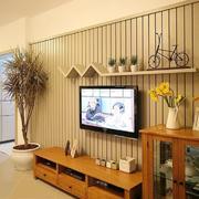低矮型电视墙设计