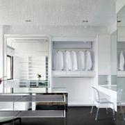 白色精简型欧式衣柜
