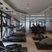 大型别墅之健身房