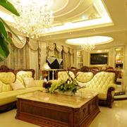 欧式大户型客厅