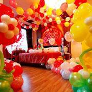缤纷系彩色气球