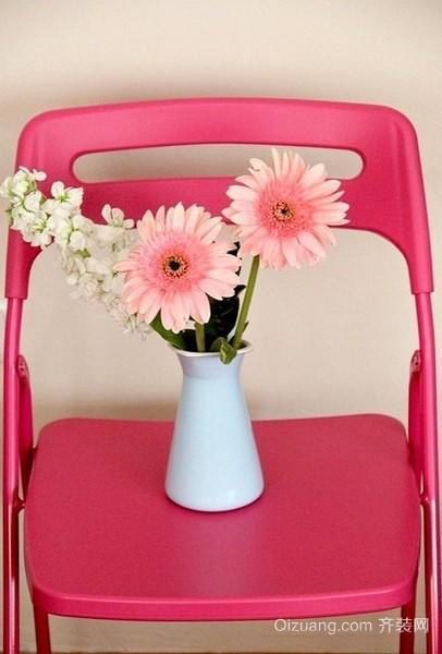 粉色系唯美清新家居效果图