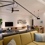 现代大户型三室两厅样板间