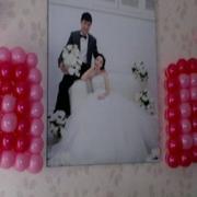婚房粉色气球浪漫装饰