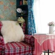 粉色沙发效果图