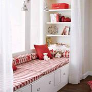 卧室地台飘窗设计