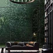 绿色星空背景墙纸