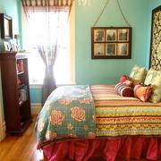 东南亚风格窗帘设计图