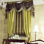 法式大户型卧室窗帘