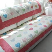 粉色清新沙发
