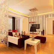 美式小户型客厅空间图展示