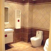 现代简约小型欧式卫生间瓷砖