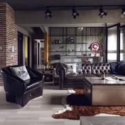 现代化公寓餐厅一体化设计图