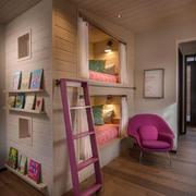 粉色系异域东南亚卧室设计
