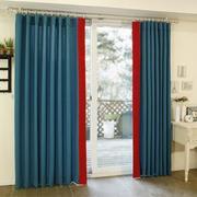 客厅落地窗窗帘设计