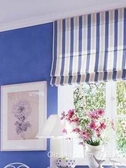 唯美韩式窗帘效果图
